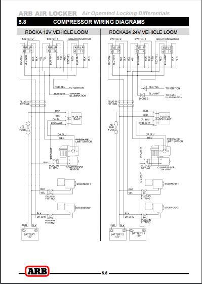 shed tech arb locker wiring diagrams