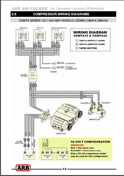 Wiring Diagram Front Diff Locker Differential Lockers