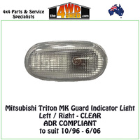 Triton MK Guard Indicator Light - Left/Right CLEAR