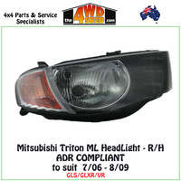 Triton ML HeadLight - R/H
