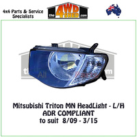 Triton MN HeadLight - L/H