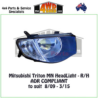 Triton MN HeadLight - R/H