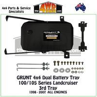 100/105 Series Landcruiser - Dual or THIRD Battery Tray
