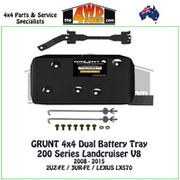 200 Series Landcruiser V8 Petrol - Dual Battery Tray