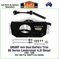 80 Series Landcruiser 4.2l Diesel - Dual Battery Tray