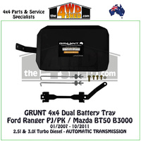 Ford Ranger PJ/PK / Mazda BT50 B3000 - Dual Battery Tray