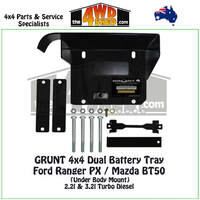 Ford Ranger PX / Mazda BT50 - Dual Battery Tray