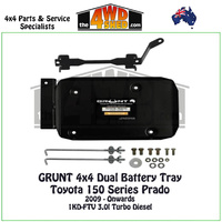 150 Series Prado 3.0l Diesel - Dual Battery Tray
