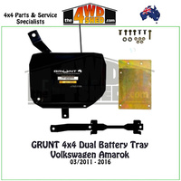Volkswagen Amarok - Dual Battery Tray