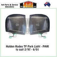 Holden Rodeo TF Front Park Lights - PAIR
