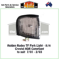 Holden Rodeo TF Front Park Light - R/H CRYSTAL