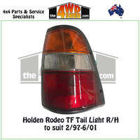 Holden Rodeo TF Tail Light - R/H