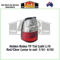 Holden Rodeo TF Tail Light - L/H