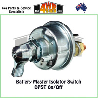 Battery Master Isolator Switch DPST On/Off