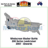 Windscreen Washer Bottle - 200 Series Landcruiser 2007 - Onwards