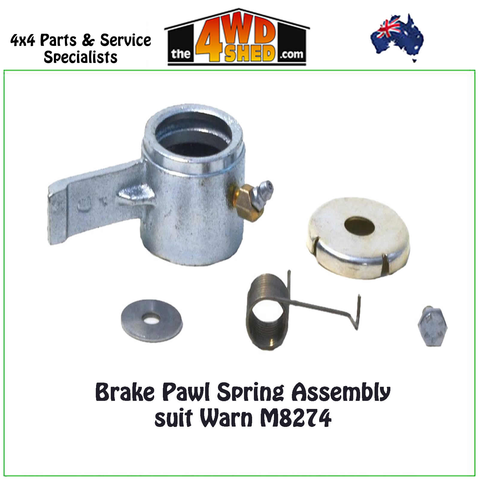 WARN 7532 End Support Assembly