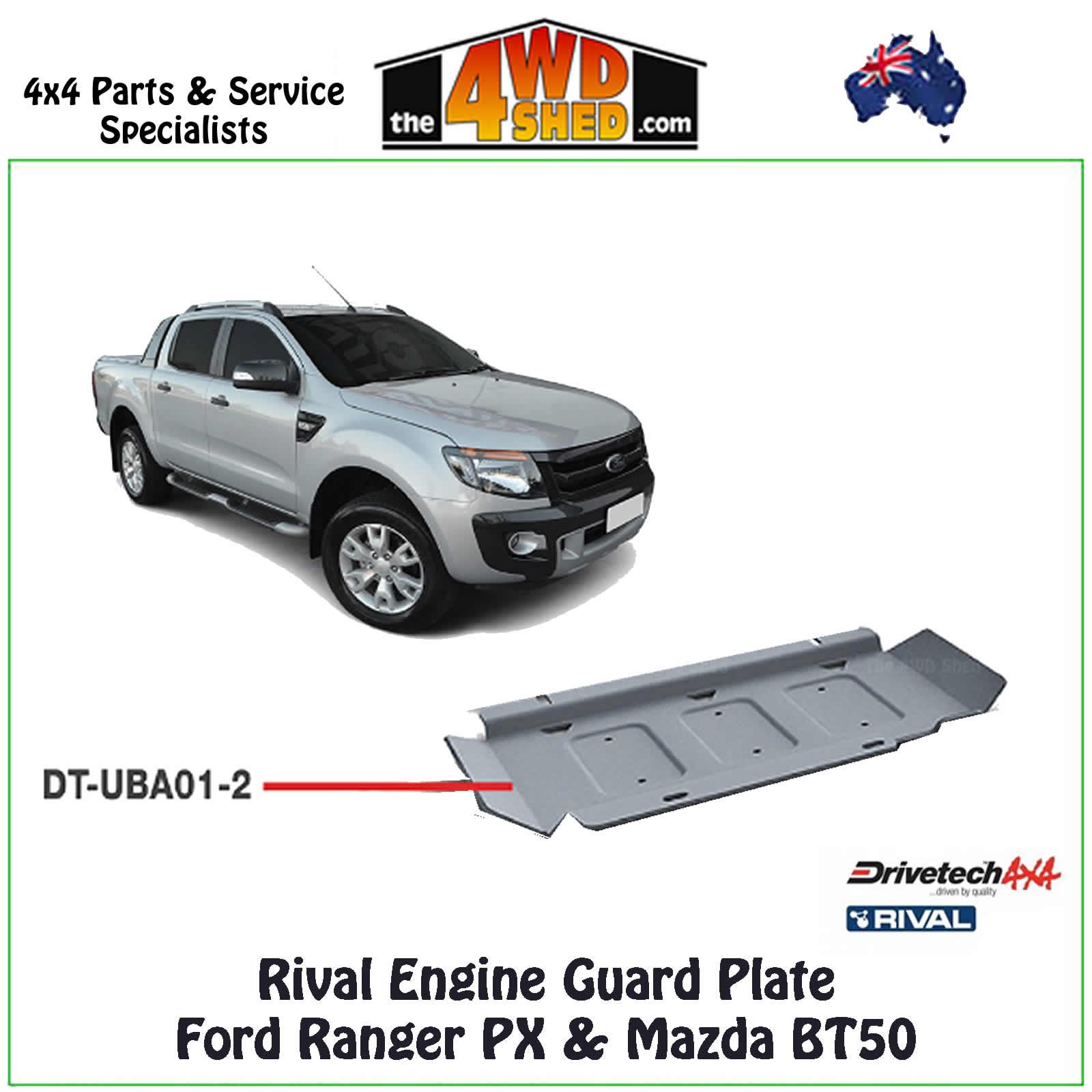 Mazda BT-50 Unterfahrschutz für Radiator — Aluminium 6mm — Ford Ranger
