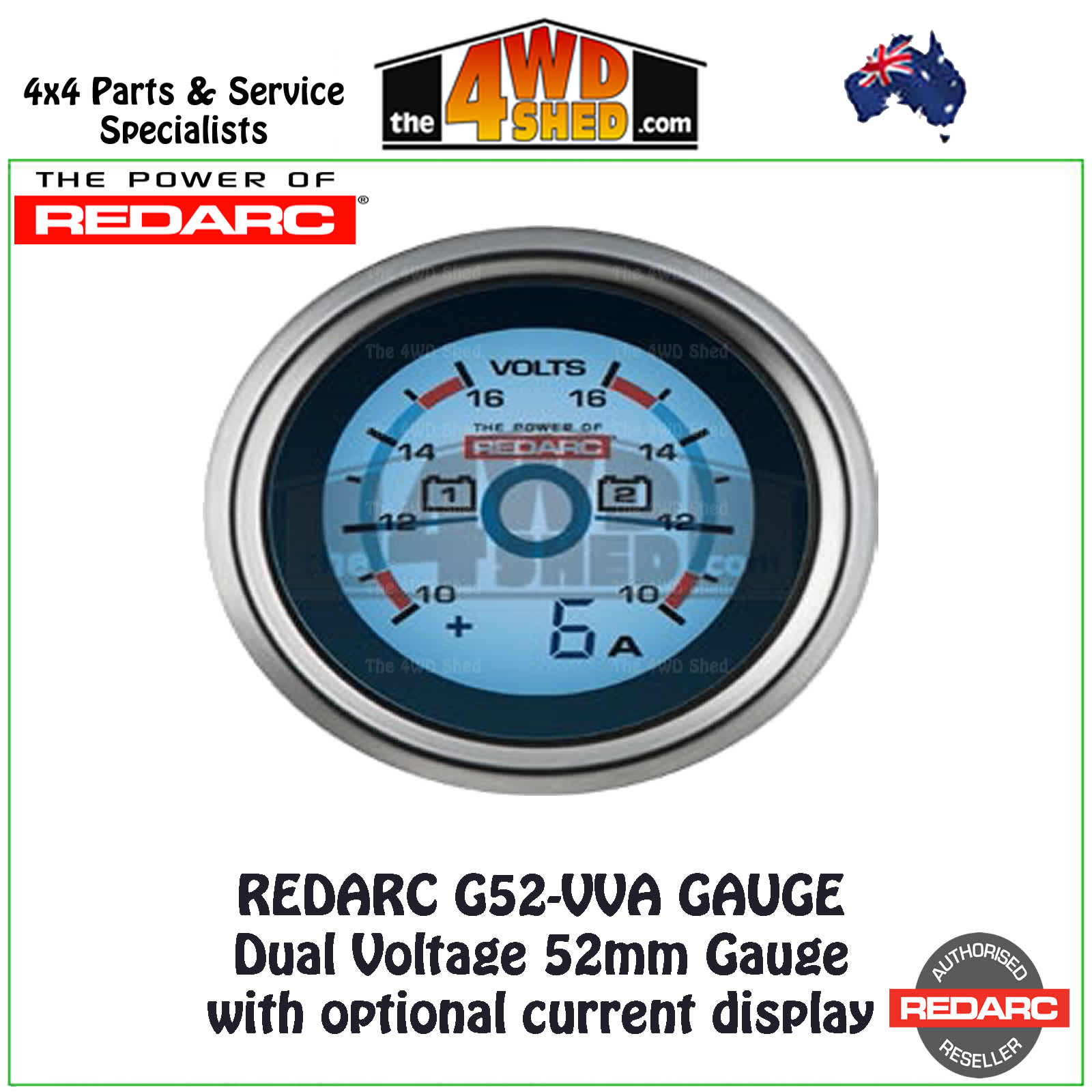 G52 VVA electrical gauges & accessories redarc bcdc1240 wiring diagram at webbmarketing.co