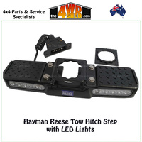Hayman Reese Tow Hitch Step with LED Lights