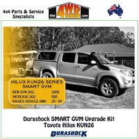 Durashock SMART GVM Upgrade Kit Toyota Hilux KUN26