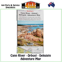 Cann River Orbost Delegate Adventure Map 1:100 000
