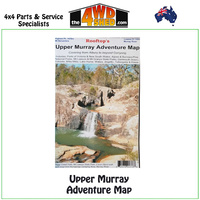 Upper Murray Adventure Map 1:100 000