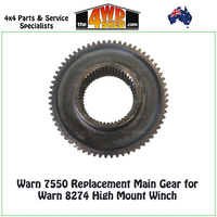 Warn 7550 - Main Gear Warn 8274 High Mount Winch