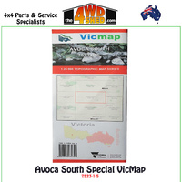 Avoca South Special VicMap 1:25 000 Topographic Map Series