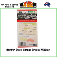 Bunyip State Forest Special VicMap 1:25 000 Topographic Map Series