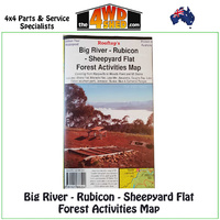Big River Rubicon Sheepyard Flat Forest Activities Map 1:50 000