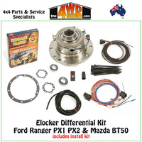 ELocker Kit Ford Ranger PX1 PX2 & Mazda BT50 Rear