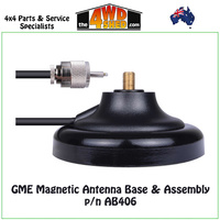 GME MAGNETIC ANTENNA BASE & ASSEMBLY - AB406