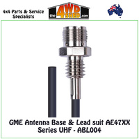 GME Antenna Base & Lead suit AE47XX Series UHF
