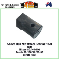 54mm Hub Nut Wheel Bearing Tool