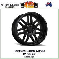 American Outlaw Wheels 12 GAUGE