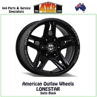 American Outlaw Wheels LONESTAR