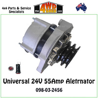 Alternator 24V 55Amp Bosch Type - Universal