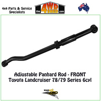 Adjustable Panhard Rod - Front - 78 & 79 Series Toyota Landcruiser 6cyl
