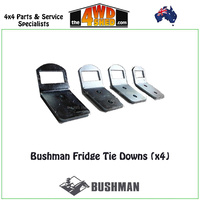 Bushman Fridge Tie Down Brackets (x4)