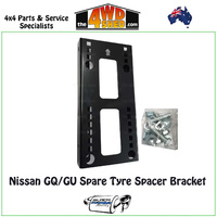 GQ/GU Spare Tyre Spacer Bracket