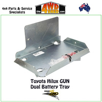 Dual Battery Tray Toyota Hilux GUN