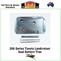 Dual Battery Tray Toyota Landcruiser 200 Series
