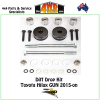 Diff Drop Kit - Toyota Hilux GUN 2015 - Onwards