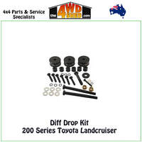 Diff Drop Kit - 200 Series Toyota Landcruiser