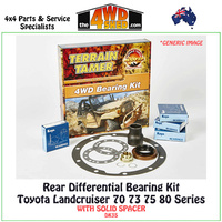 Differential Bearing Kit Toyota 70 75 80 Series Landcruiser Rear - DK3S