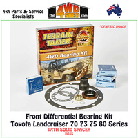 Differential Bearing Kit Toyota 70 75 80 Series Landcruiser Front - DK4S