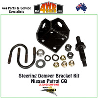 Steering Damper Bracket Kit - Nissan Patrol GQ