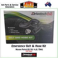 Emergency Hose & Belt Kit - DT-BHK03
