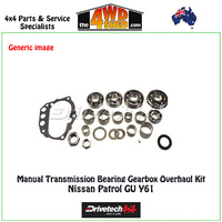 Manual Transmission Bearing Gearbox Overhaul Kit