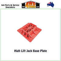 High Lift Jack Base Plate